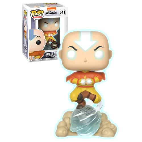 Aang on AirScooter Avatar State Funko Pop