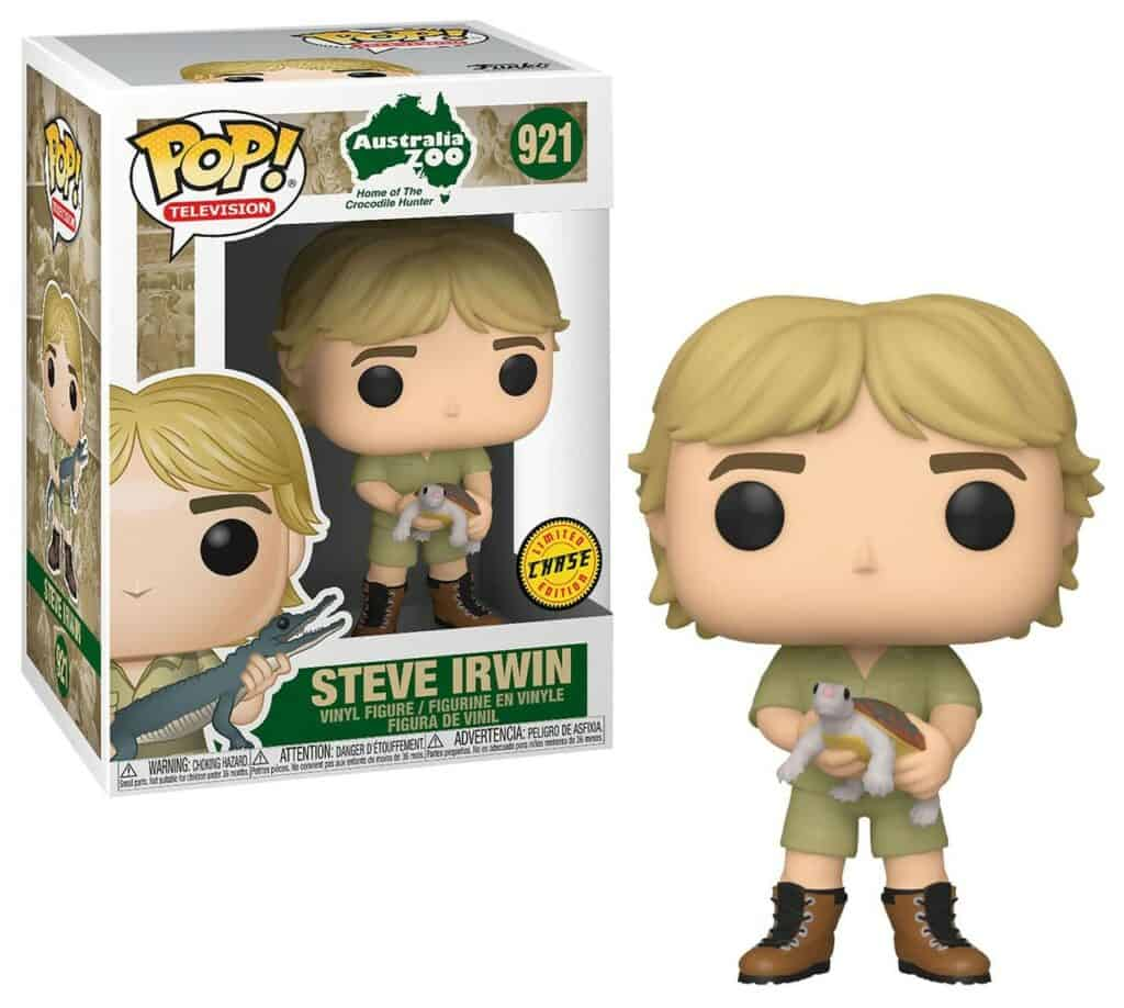 Steve Irwin With Turtle Funko Pop