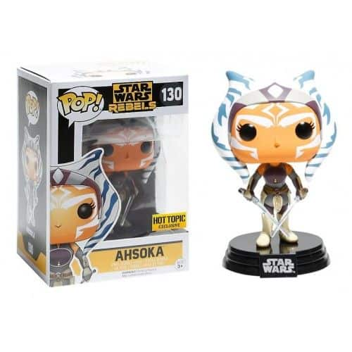 AHSOKA 130 Hot Topic Exclusive Funko Pop StarWars Rebels