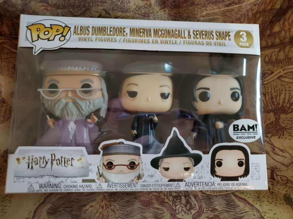 Dumbledore 3 pack funko pops