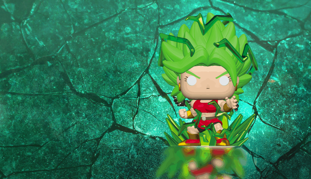 Glow in the Dark Funko Pop Kale
