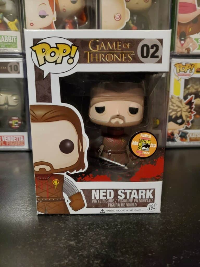 Game of Thrones Ned Stark Headless Rare Funko Pop
