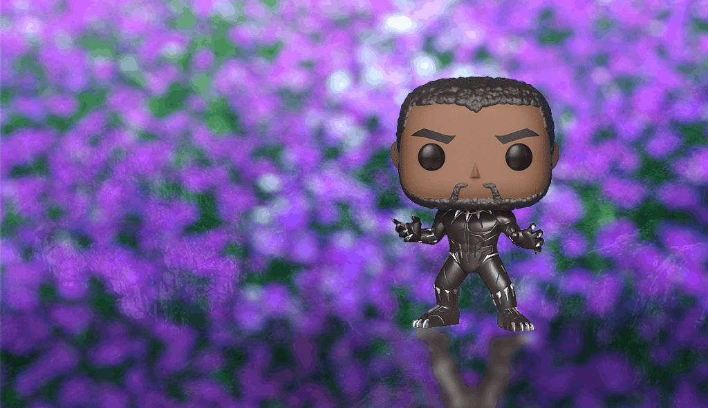 Funko Pop Valuable - Black panther