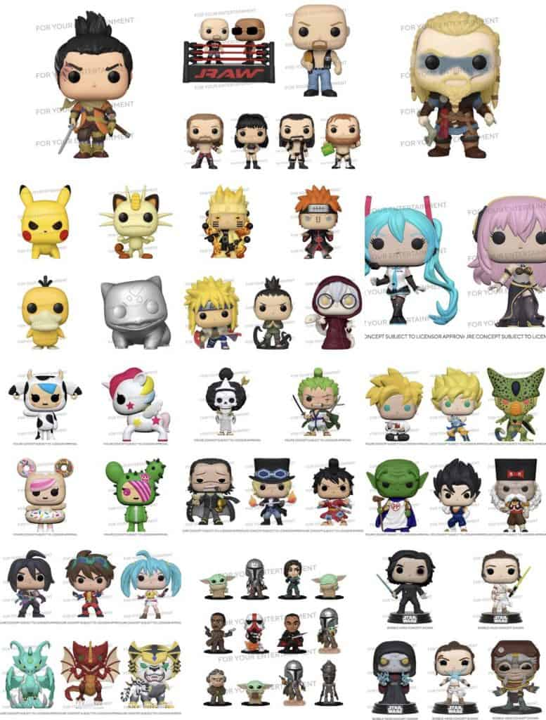 Upcoming Funko Pops New Wave - Funko Pop List from FunkoPopNews