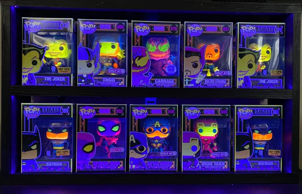 LED Funko Pop Case