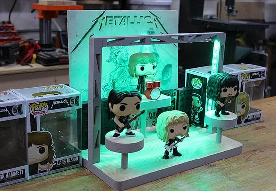 LED Funko Pop Display