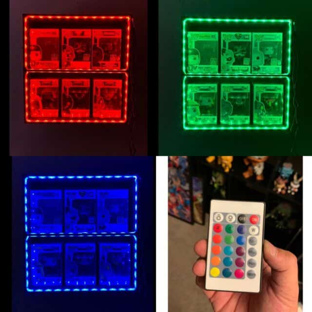 Multi-Color LED Case Funko