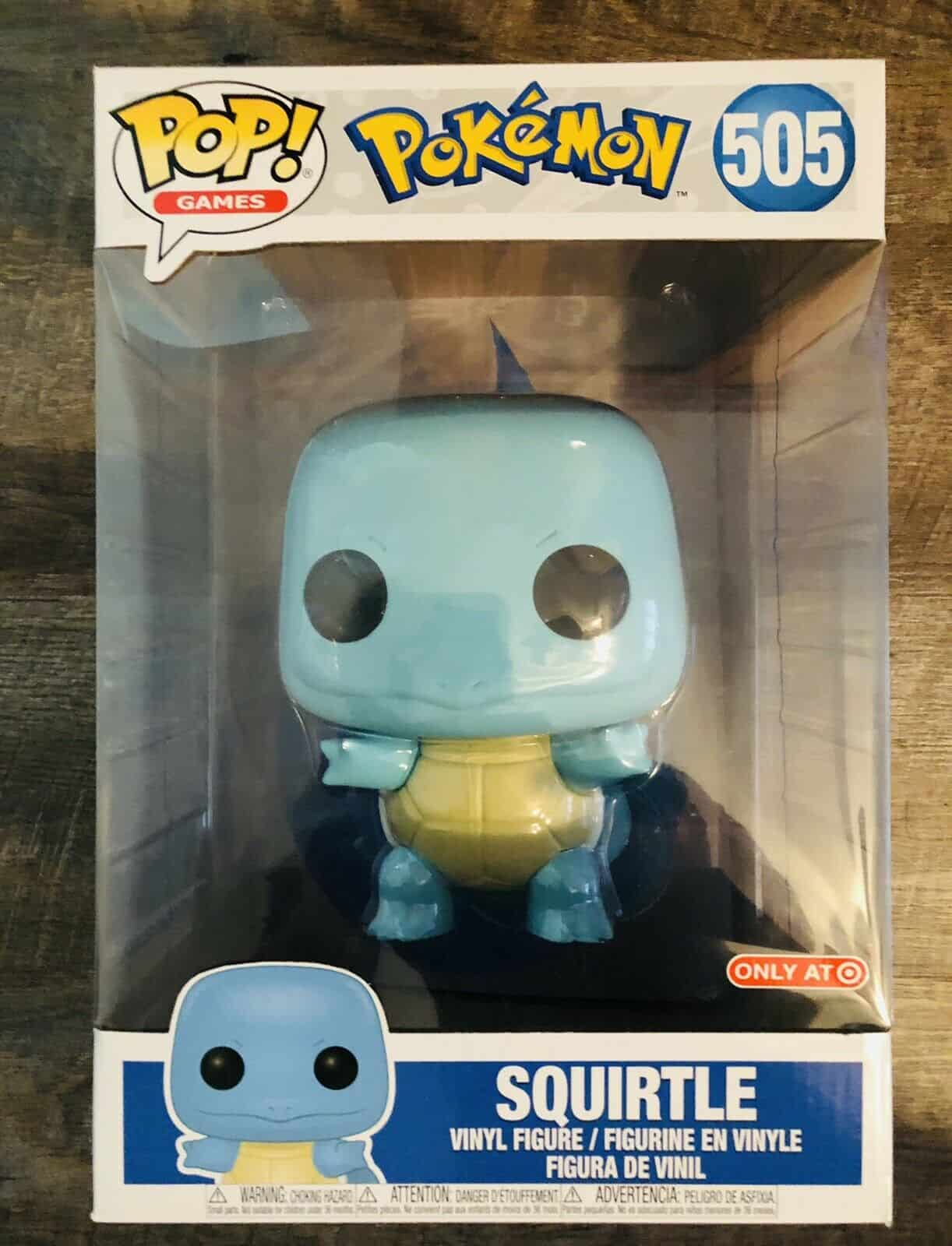 Squirtle Funko Pop 10 Inch