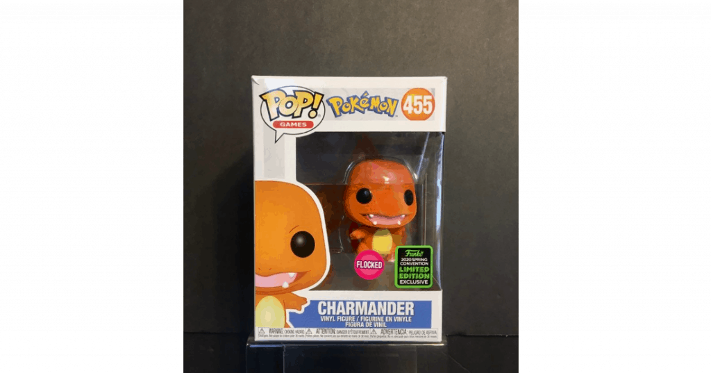 Charmander Flocked Pop