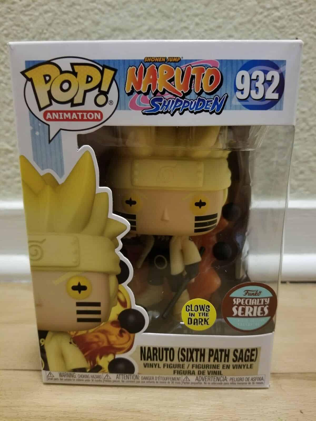 Naruto Six Path Sage (Specialty Series) in Hand GITD