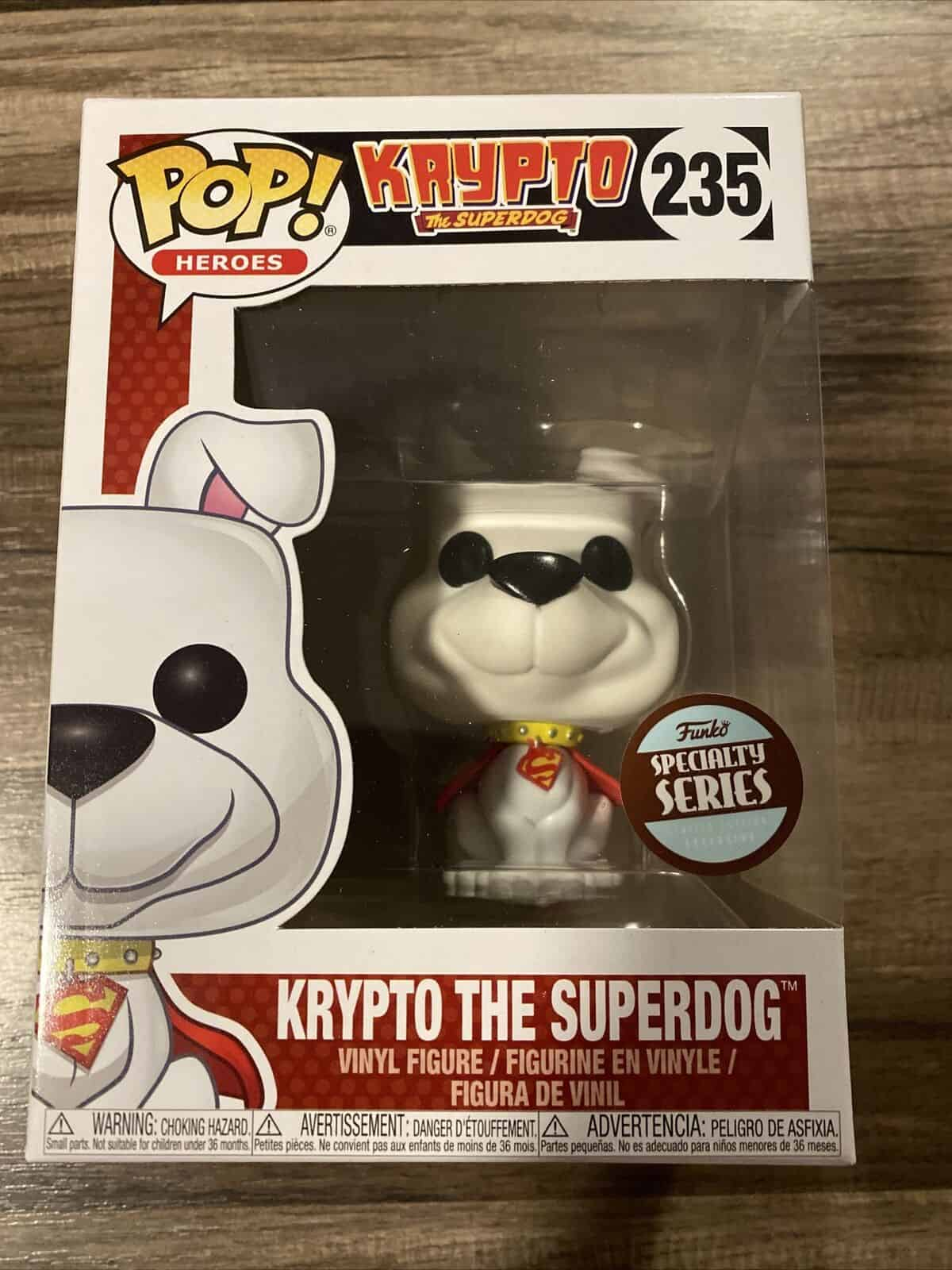 Superdog Krypto Pop