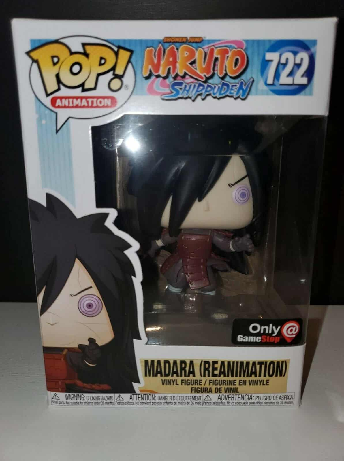 Madara - Reanimation best naruto funko pops