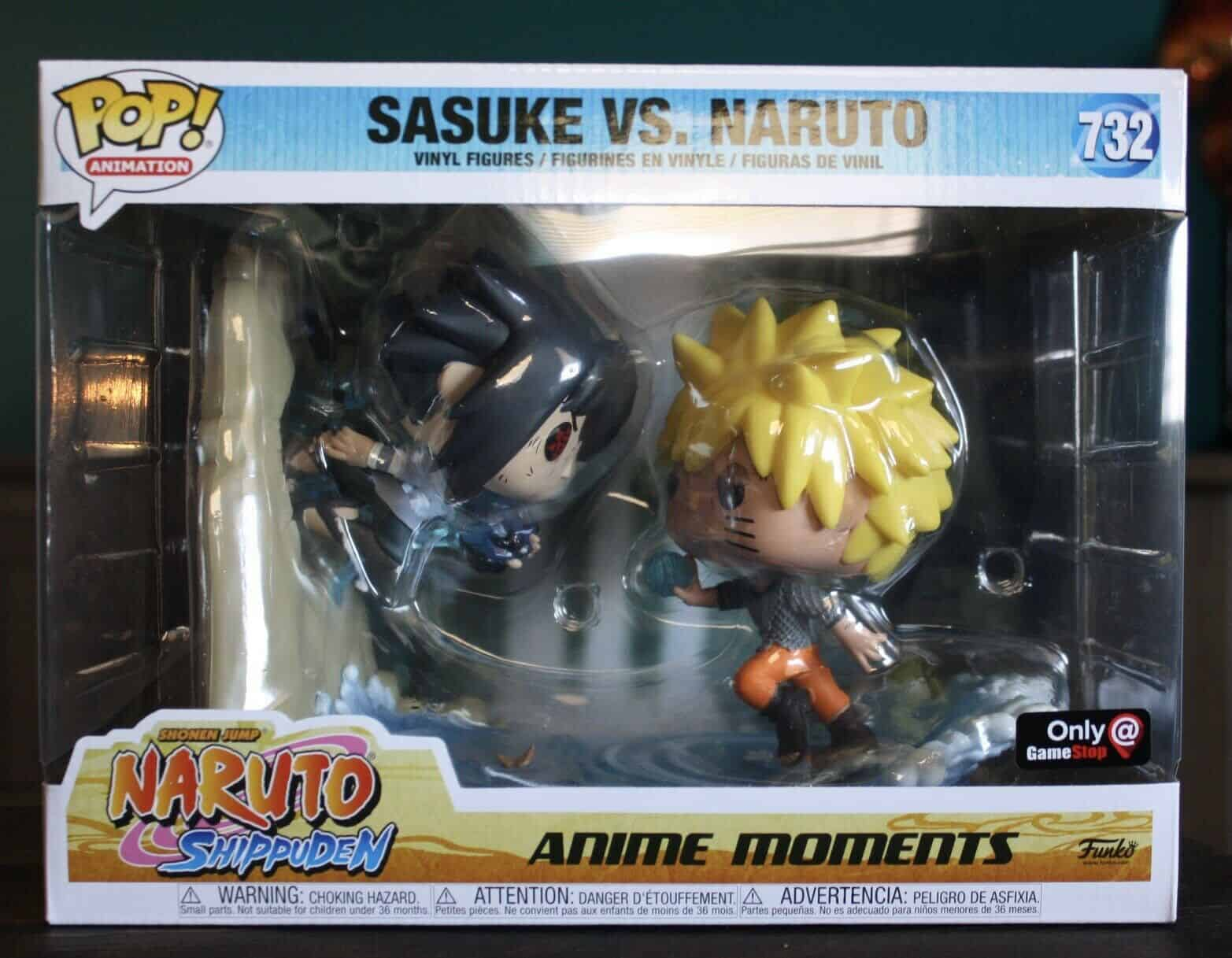 Naruto vs. Sasuke Moment GameStop Funko Pop