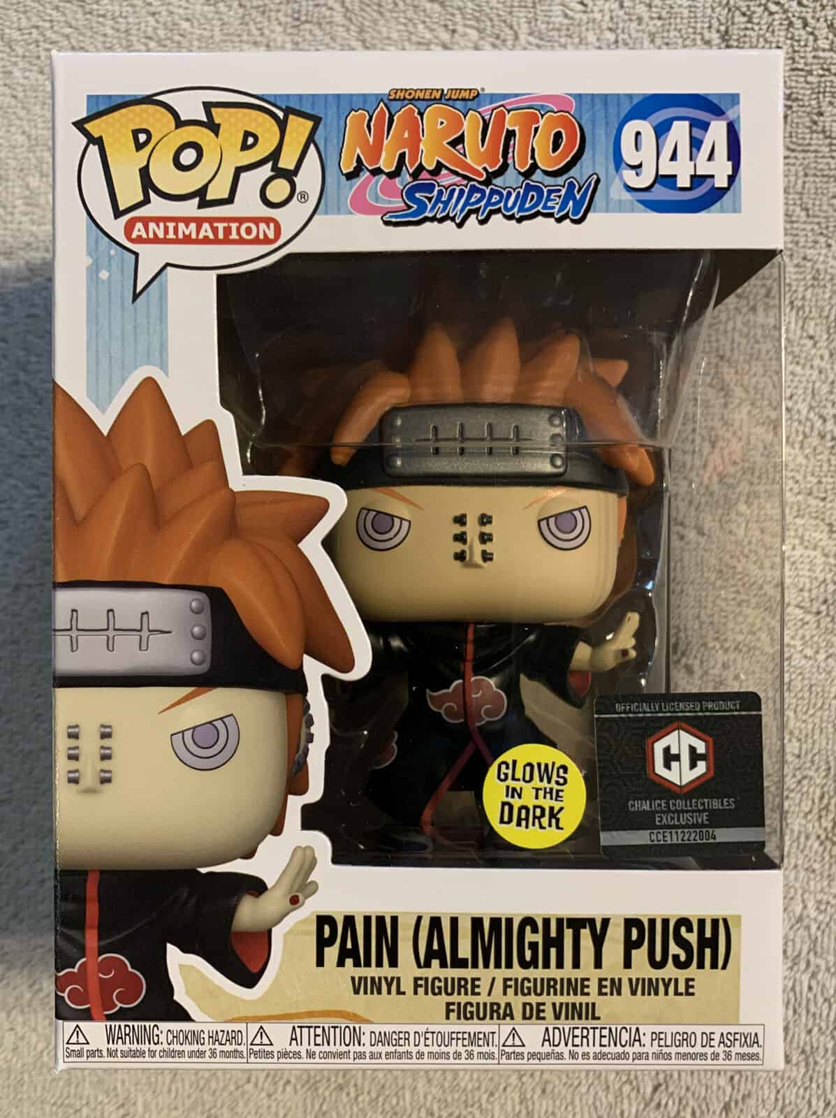 Pain All Mighty Push Funko Pop