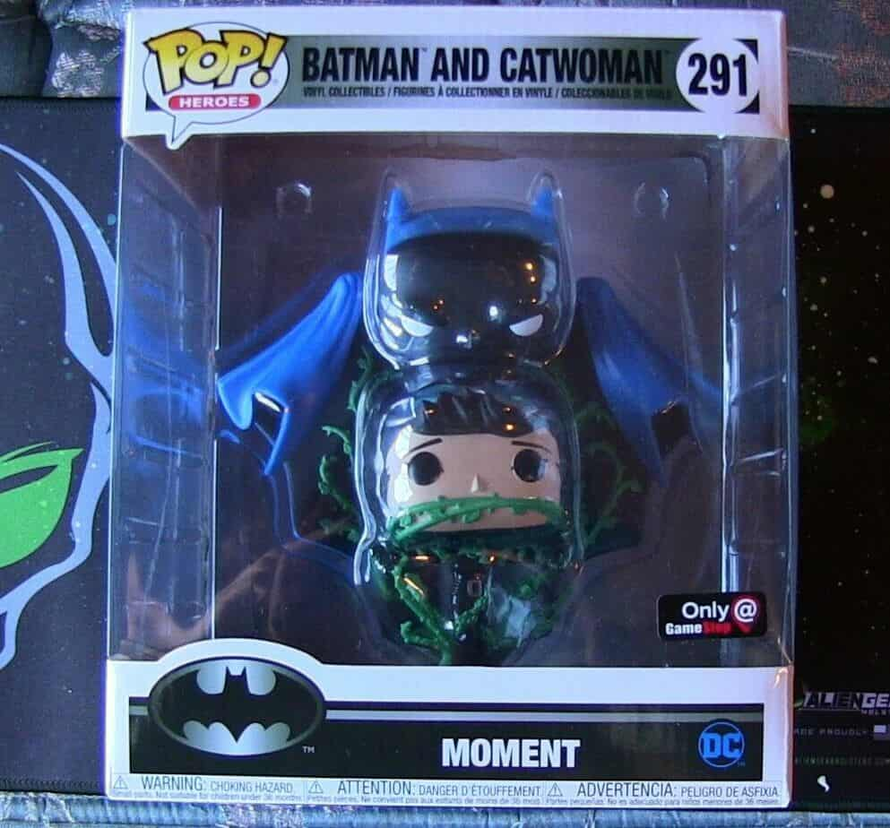 Batman and CatWoman Pop Movie Moment Review