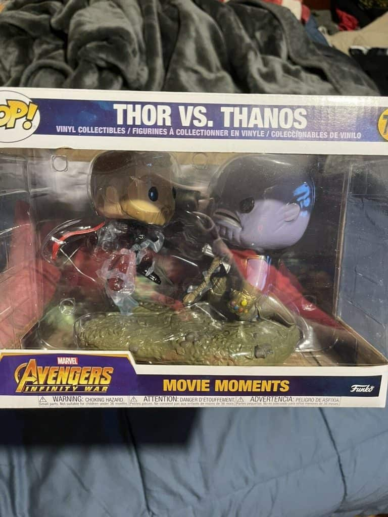 Infinity War Movie Moments Pop Review