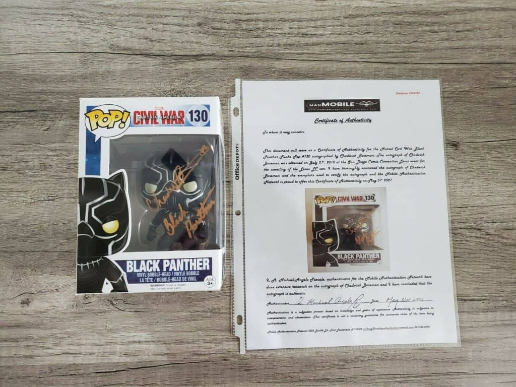 Panther-Autographed Funko
